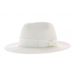Chapeau Bogarte blanc