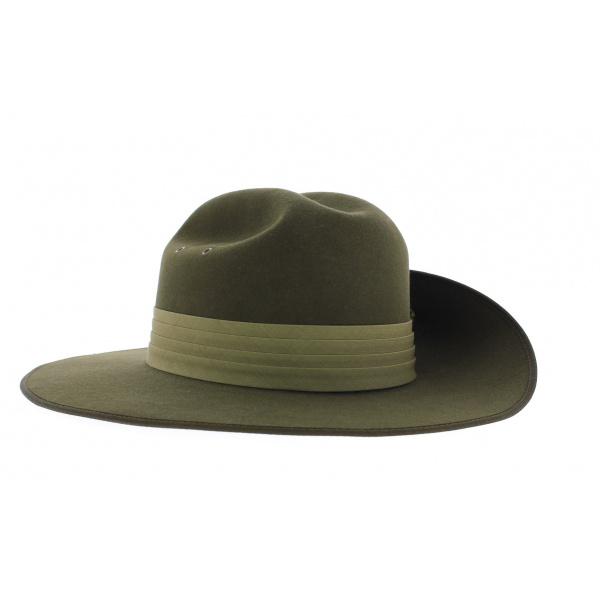 Akubra felt fur hat - Military