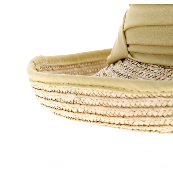 chapeau breton paille blanchie