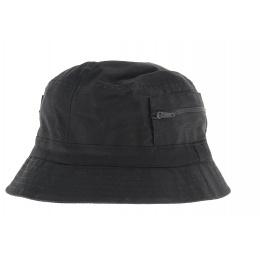 Bob - chapeau tissu noir
