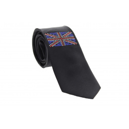 Strass Silk Tie UK