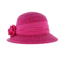 Fushia Bell Hat