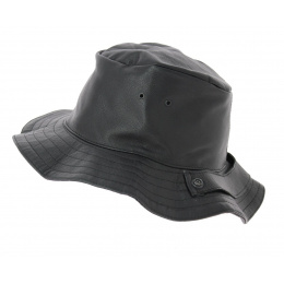 Traveller style leather hat