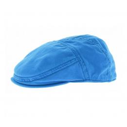 Casquette Plate Paradise Coton bleu azur Stetson