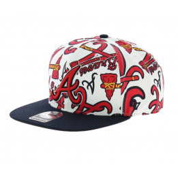 Casquette Atlanta Braves rouge - 47 Brand