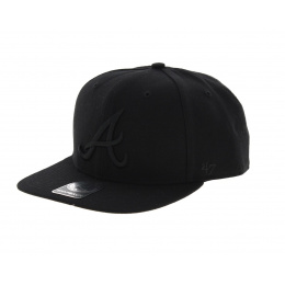 Casquette Atlanta Braves noire - 47 Brand