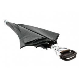 Canne-siège parapluie gris - Il Marchesato