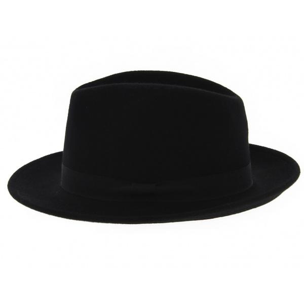 Chapeau fedora feutre laine