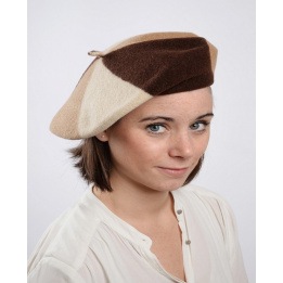 Choco trio beret - The French beret