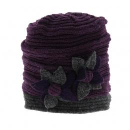 Bonnet laine Nirvana - Violet