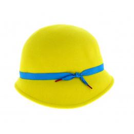 Chapeau cloche Natalina - Jaune