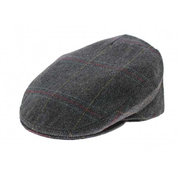 Casquette plate Anglaise Hereford Tweed Olney