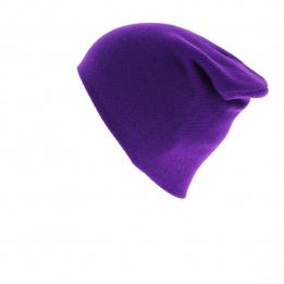 Bonnet The Flt purple - Coal
