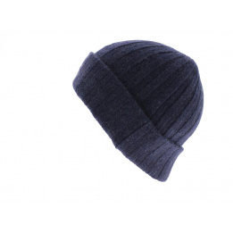 Bonnet cachemire Surth bleu délavé - Stetson