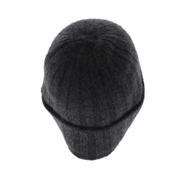 Bonnet cachemire Surth Anthracite - Stetson