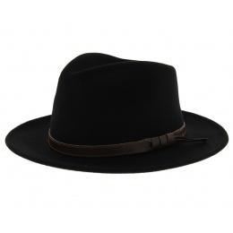 Chapeau fedora - Manny noir