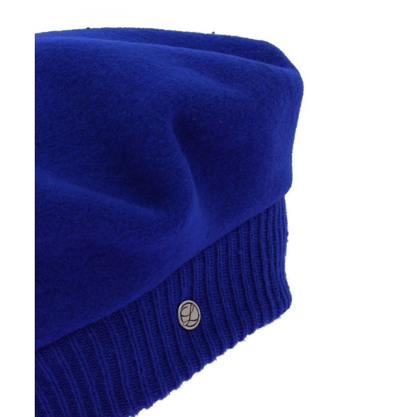 Beret Parisienne Bleu marine - Laulhère