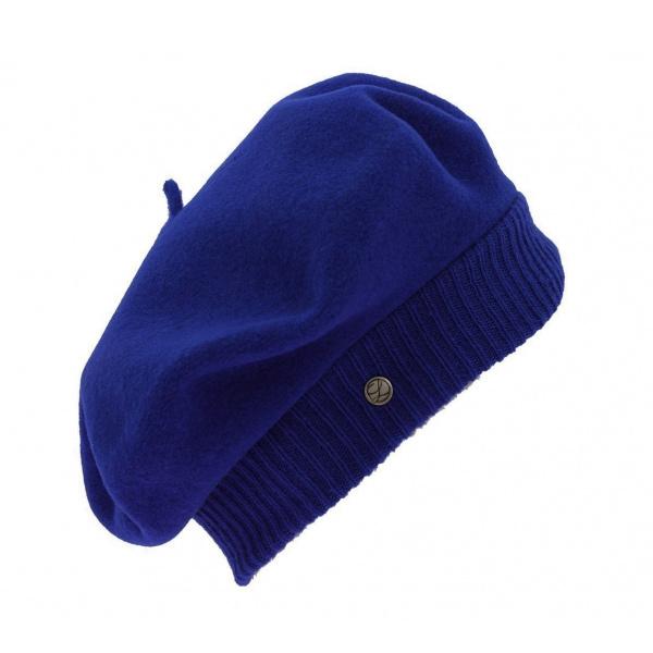 Beret Parisienne Bleu Nuit - Laulhère