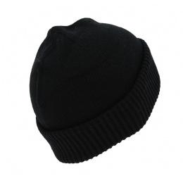 Bonnet Cousteau laine - Noir
