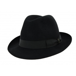 Borsalino Marengo Black Hat