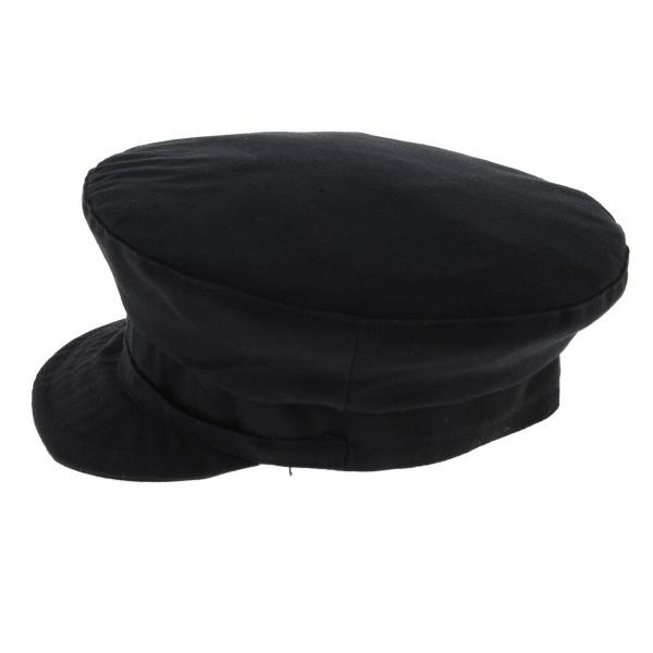 Casquette de chauffe noire