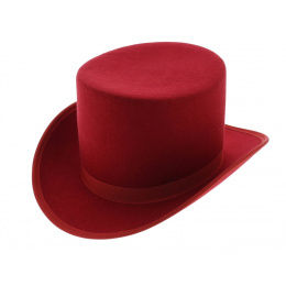 Chapeau haut de forme droit