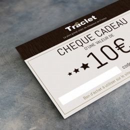 Gift voucher 10€ Traclet