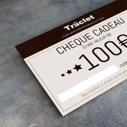 cheque cadeau 100€