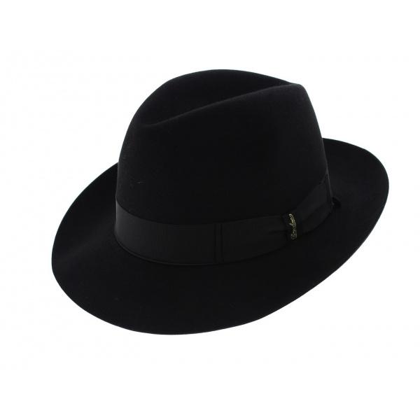 Chapeau Feutre Poil de Castor Noir - Borsalino