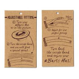 Chapeau Paille Papier Baxt - Barts
