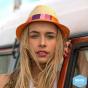 Chapeau Trilby Bicolore Jelly Bean Fibres Naturelles - Rigon Headwear