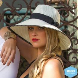 Priscilla White Polyester Capelin - Rigon Headwear
