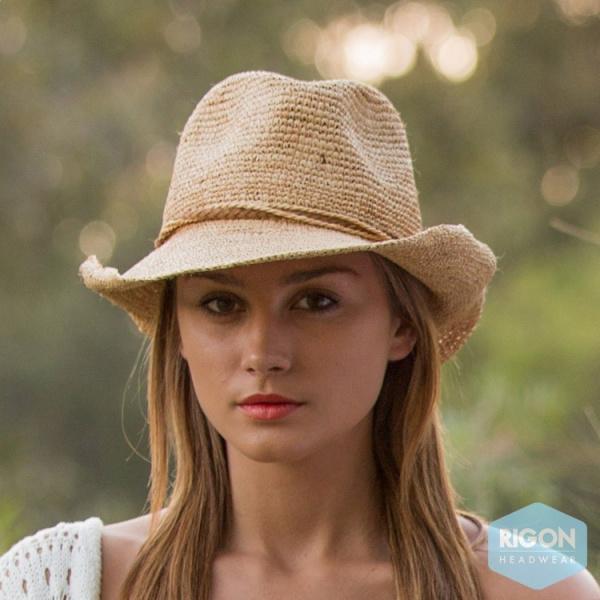 Cowboy Hat Marjo Straw Raffia