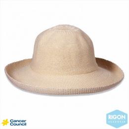 Chapeau Breton Beige Polyester - Rigon Headwear