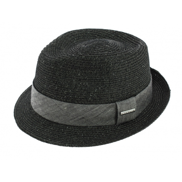 5b875be6 Trilby Hat Reidton Anthracite Toyo- Stetson - Chapeau Traclet