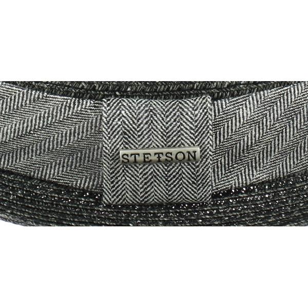 Chapeau Porkpie Robston Toyo Anthracite - Stetson