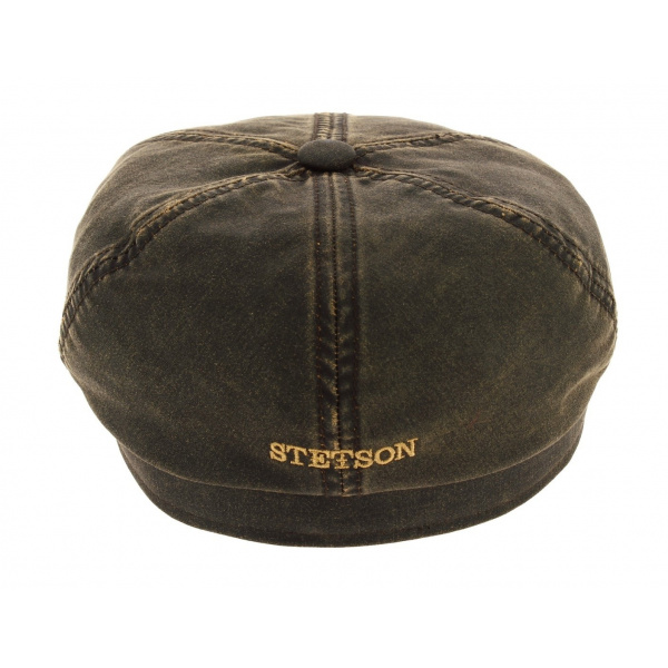 Lanesboro leather cap stetson