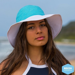 Capeline Endless Summer Turquoise Polyester- Rigon Headwear