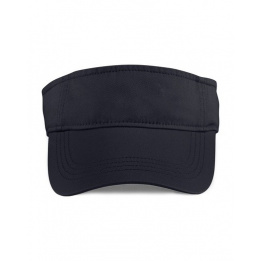 Visor Cap Cotton Black
