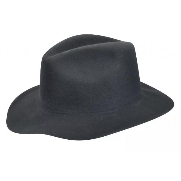 Chapeau Traveller Inglis Feutre Laine Noir - Bailey