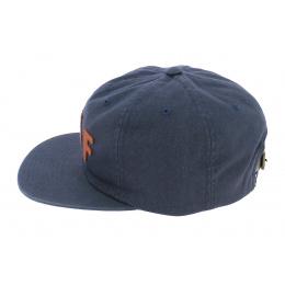 Casquette Snapback Shortstop Coton Bleu - HUF