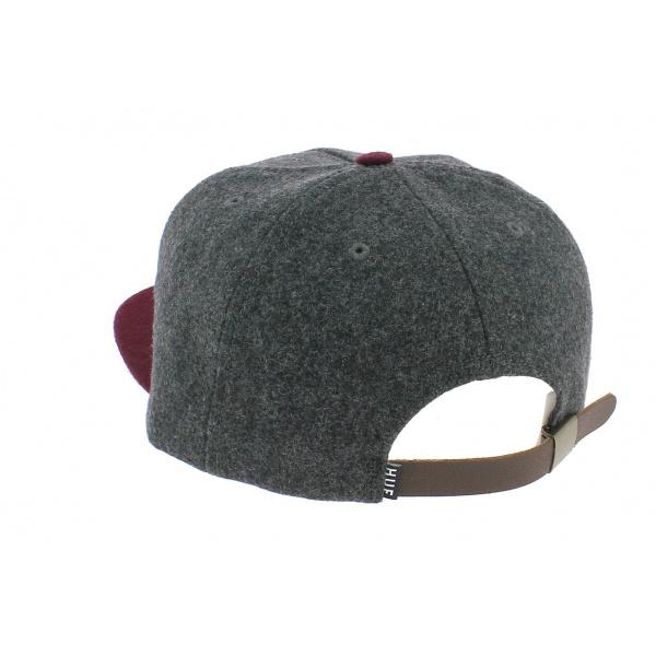 Casquette Snapback Wool Classic Laine Bicolore - HUF