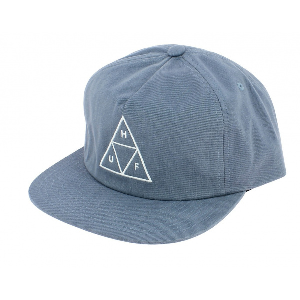 Light Blue Cotton Triangle Snapback Cap - Huf