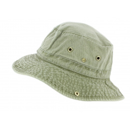 Bob Jodhpur Coton Olive Délavé - Broner Hats