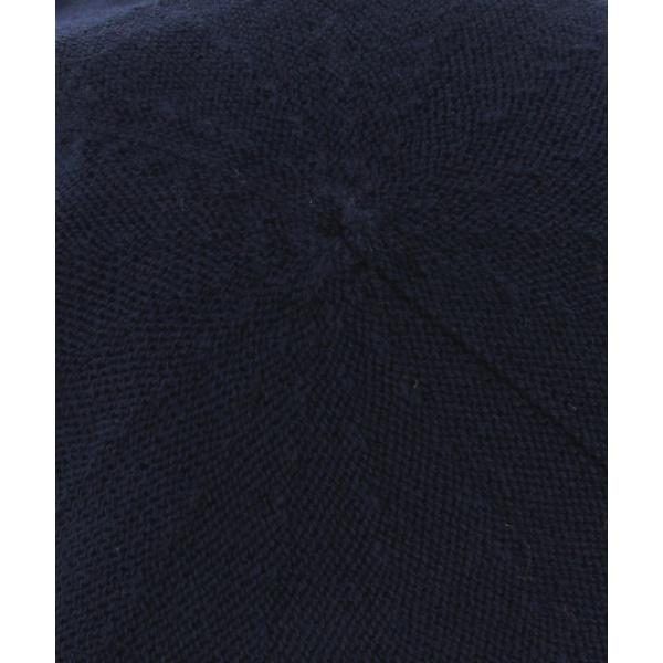 Navy cotton beret