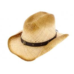 Chapeau Cowboy Rising Star Paille Naturel - Bullhide
