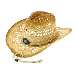 Cowboy Lost In Love Natural Straw Hat - Bullhide