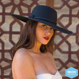 Capeline Margan Polyester Noir - Rigon Headwear