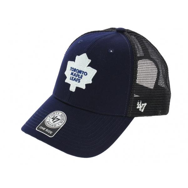 Trucker Snapback Mapple Leafs Blue Cap - 47 Brand