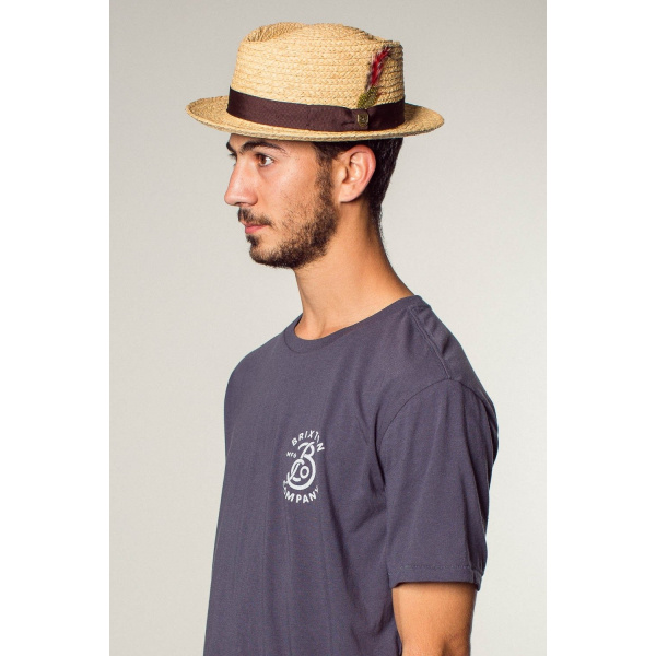 Hat Bellbrook Raphia Stetson dark blue